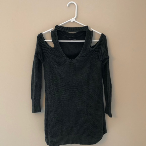 American Eagle Outfitters Cold Shoulder Sweater